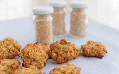 Galletas de quinoa y naranja