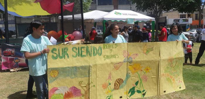 Feria del parque Quito Sur